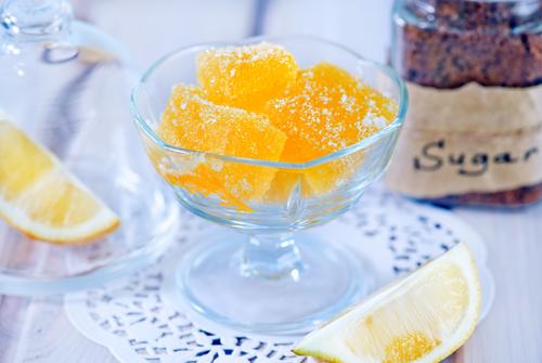 Фото Лимонный мармелад без сахара