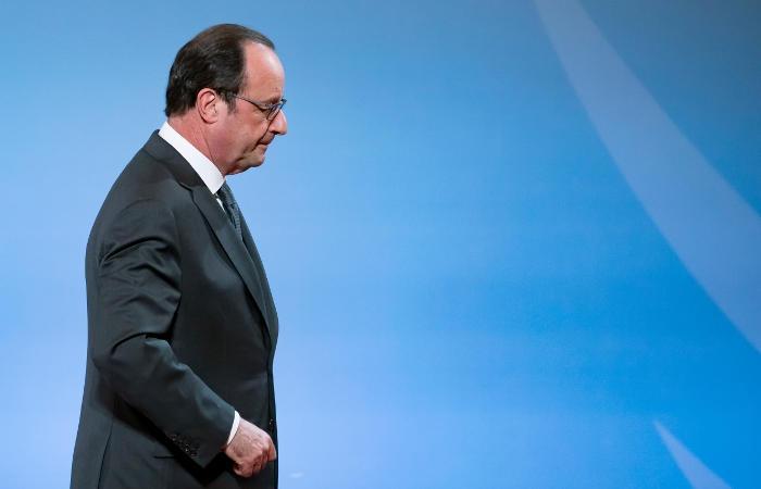 Фото Олланд отказался от участия в президентских выборах 2017 года