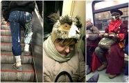 Юмор: 17 экстравагантных пассажиров метро, которые могли бы составить конкуренцию самой Леди Гаге