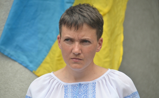 """Фото Савченко обвинила Россию в готовности """"дойти до Великобритании"""""""