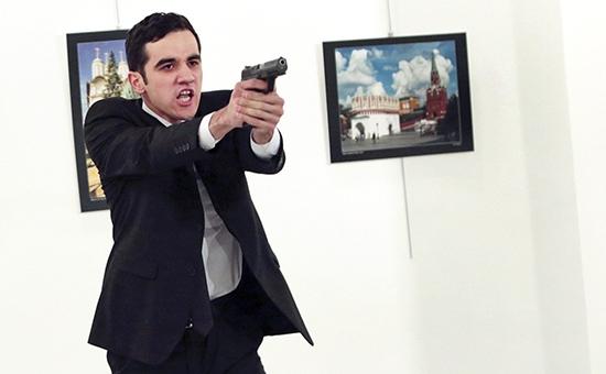 Фото Убийца российского посла оказался бывшим сотрудникомполиции Турции