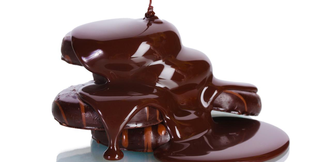 Фото Шоколадная глазурь на молоке с какао