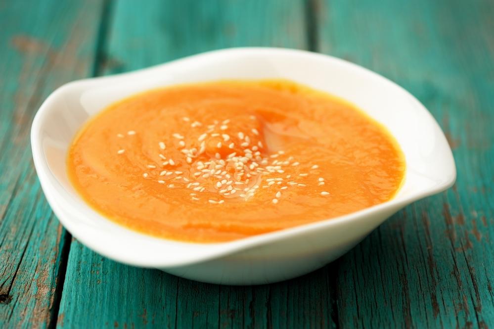 Сладкий тыквенный суп-пюре