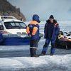 На Красноярском море утонул внедорожник