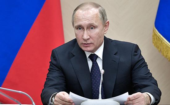"""Фото Путин обвинил Киев вжелании """"вышибать деньги"""" из-зарубежа"""