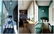 Идеи вашего дома: 19 крутых идей обустройства небольшой лоджии в городской квартире