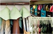 Лайфхак: 17 хитростей, которые помогут навести порядок в доме и увеличить возможности гардеробной