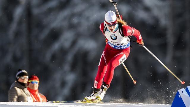 Фото Домрачева выиграла серебро пасьюта, Дальмайер – золото