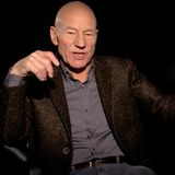 Watch: Patrick Stewart on going R-rated for Logan and apocalyptic road trip music