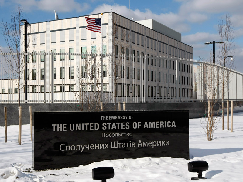 Фото В посольстве США на Украине назвали признание Россией документов ДНР и ЛНР противоречащим минским соглашениям