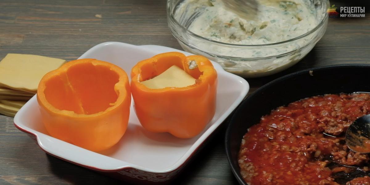 Лазанья в болгарском перце: видео-рецепт