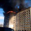 В Приморском крае в жилом многоэтажном доме произошел пожар