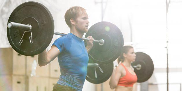 Фото Как правильно дышать во время силовых упражнений