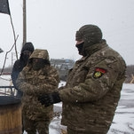 Ukraine 'Blockaders' Try to Cut Off Rail Traffic From Rebel Areas