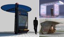 Архитектура: 15 удивительных концепций автобусных остановок, которые хотелось бы увидеть в своём городе