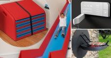Промышленный дизайн: 10 странных, забавных и при этом очень полезных предметов для дома, которые можно сложить