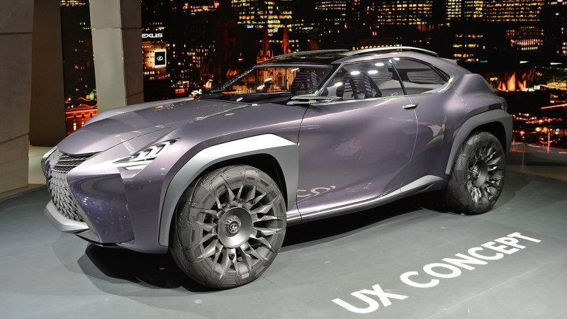 Photo of Lexus will build a production version of the UX crossover