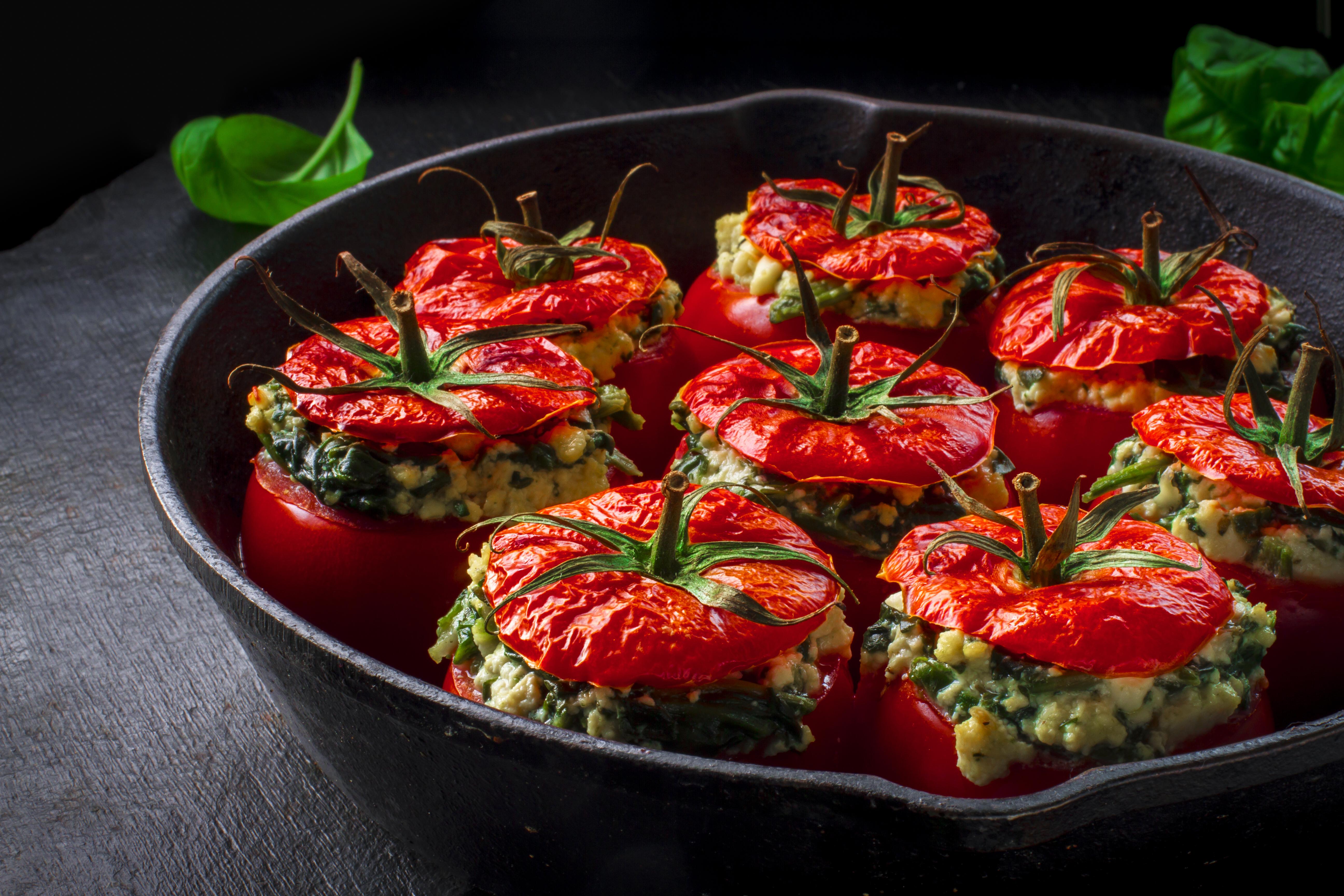 Фаршированные помидорки