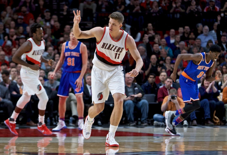 Photo of Trail Blazers 110, Knicks 95: With Three Rookies in the Starting Lineup, the Knicks Fall to the Blazers