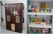Лайфхак: Детские мечты: как сделать прелестный кукольный домик из старого чемодана