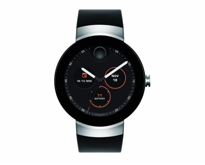 Фото Connect — дебютные смарт-часы от Movado