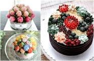 Еда и напитки: 20 цветущих тортов, вдохновленных природой, которые станут украшением любого торжества