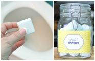 Лайфхак: Операция «чистые руки»: как сделать «бомбы» для очистки и освежения туалета