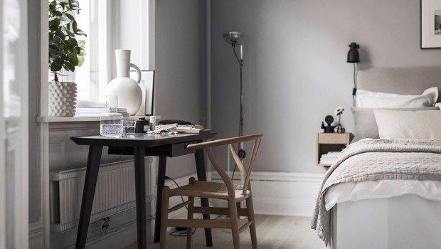 Фото Как организовать рабочее место в спальне: три реальных примера