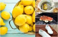 Лайфхак: 20 необычных способов полезного использования лимонов, о которых знают немногие