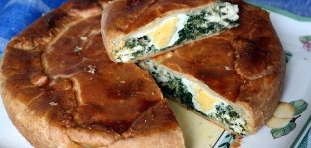 Фото Лигурийский пасхальный пирог, torta pasqualina