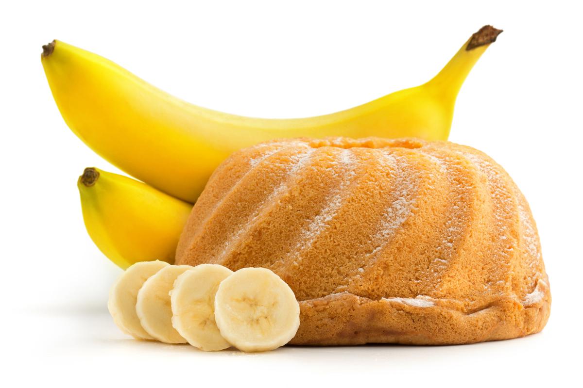 Бананово-ореховый пирог