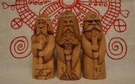 Скульптура: Дохристианские Боги: ожившая мифология  в работах новгородского мастера Николая Родионова