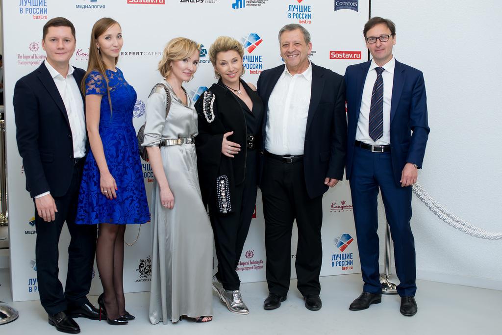 Объявлены лауреаты бизнес-премии Лучшие в России-2016