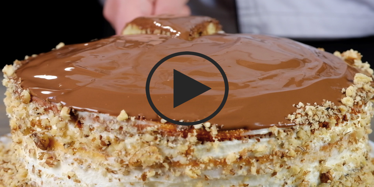 """Торт """"Проще простого"""": видео-рецепт"""