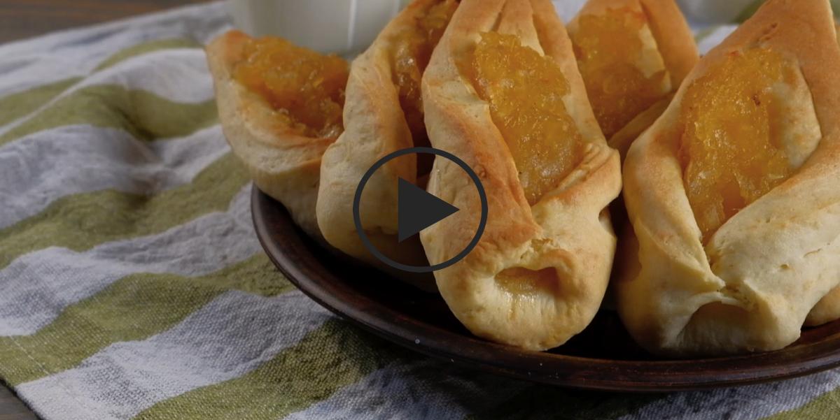 Ароматное яблочное печенье: видео-рецепт