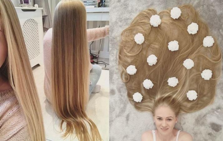 """Фото """"Мама, это же Рапунцель!"""": британке с метровой косой не дают прохода дети на улице"""