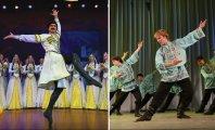 Музыка: Народный танцевальный батл: русский танец и лезгинка на одной сцене