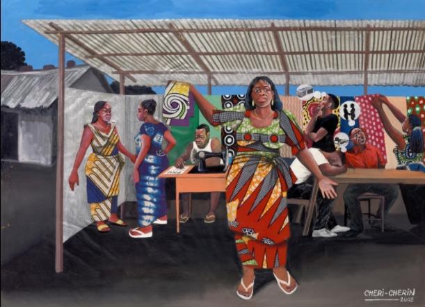 """Выставка """"Худпром Конго: живопись для народа"""" в """"Гараже"""""""