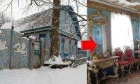 Архитектура: Неказистый дом из Брянской глубинки скрывает внутри настоящие царские хоромы