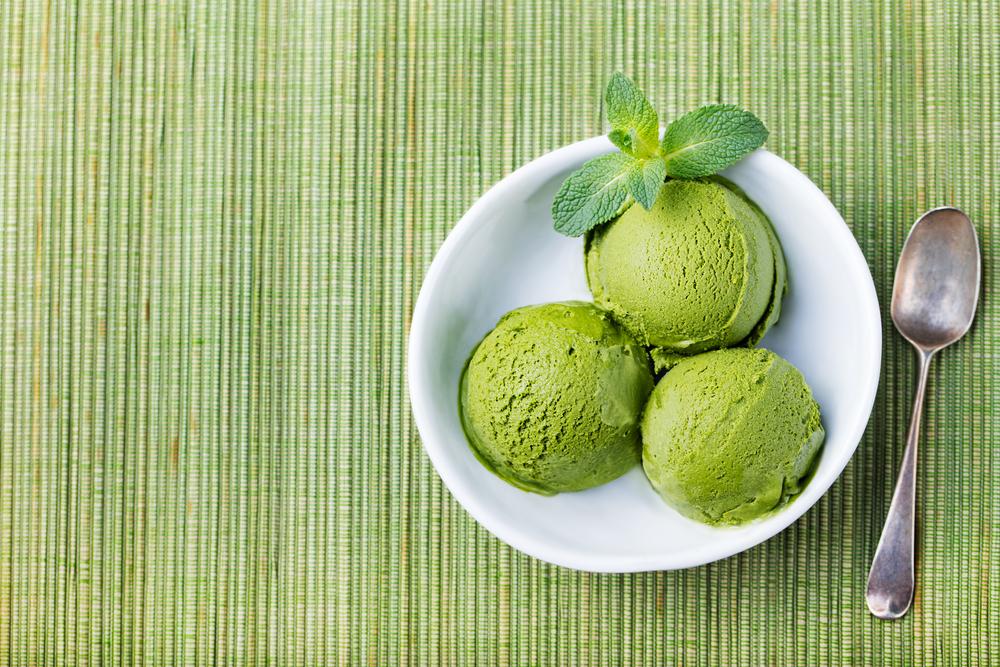 """Японское мороженое """"Зеленый чай"""""""