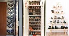 Идеи вашего дома: Оригинальные идеи для хранения обуви, которые помогут преобразить интерьер прихожей