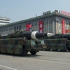 Фото Северная Корея произвела запуск противокорабельных ракет