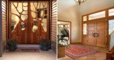 Идеи вашего дома: 20 стильных входных дверей, которые станут визитной карточкой фасада здания
