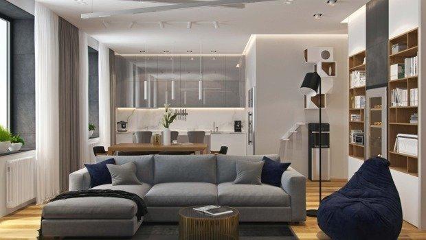 Фото Как грамотно обустроить квартиру со свободной планировкой?