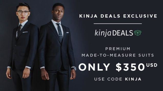 Photo of It's Back! The Best Price Ever On Your Favorite Custom Suits. [Exclusive]