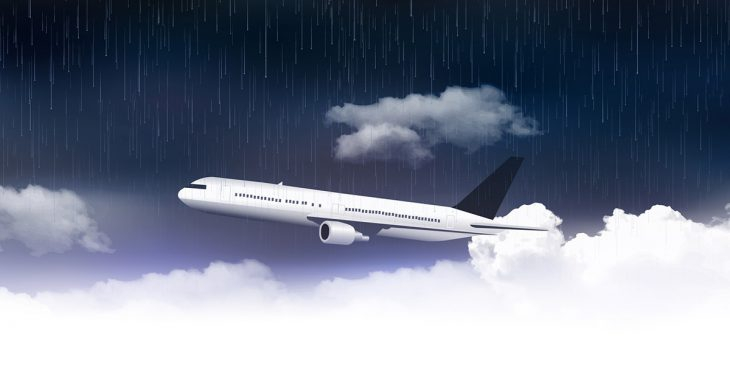 Фото Прикольный анекдот про пилота иочень-очень нервную пассажирку