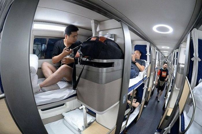 Фото Как выглядит китайский плацкартный вагон (4 ФОТО)