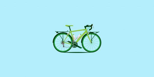 Фото 5 типичных ошибок велосипедистов