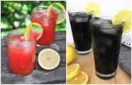 Еда и напитки: Красное и чёрное: два быстрых, но особенных рецепта лимонада, которые отлично освежат в жару