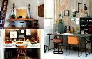 Идеи вашего дома: Домашний офис: 17 оригинальный идей оформление рабочего кабинета, в котором хорошо работать и отдыхать